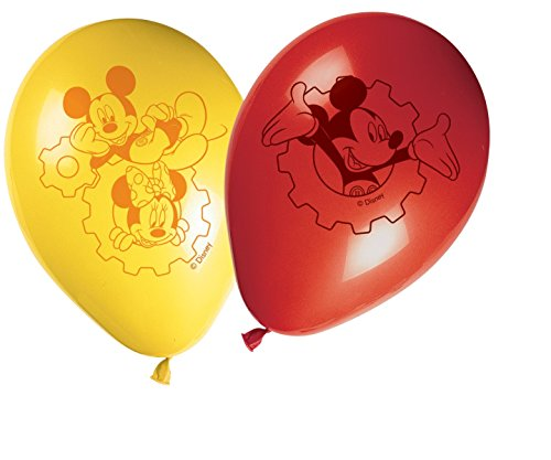 Lot-de-8-ballons-en-latex-Mickey-Mouse-de-Disney-28-cm