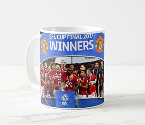Manchester United EFL Cup 2017 Winners Souvenir Mug