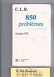 850 problèmes : Niveau CE