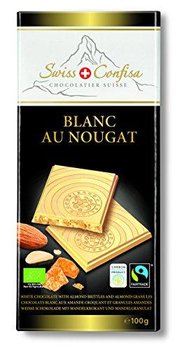 Swiss Confisa Schokolade Blanc au Nougat, 5er Pack (5 x 100 g)
