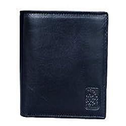 Woodland Black Mens Wallet (W 521004)