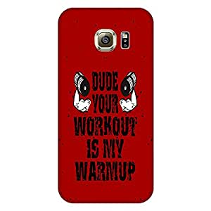 MOBO MONKEY Designer Printed Hard Back Case Cover for Samsung Galaxy S7 Edge - Premium Quality Ultra Slim & Tough Protective Mobile Phone Case & Cover