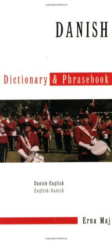 Danish-English Dictionary & Phrasebook (Hippocrene Dictionary & Phrasebooks) (Multilingual Edition) por Erna Maj