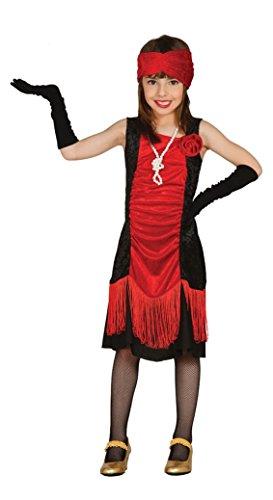 (Fiestas Guirca Kostüm roter Hut und schwarzes Kind 20 Jahre)