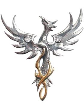 Phönix der Sonne Amulett Anhänger Talisman - Optimismus
