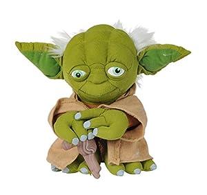 Disney-Star Wars Yoda de Peluche 25cm, 5874943