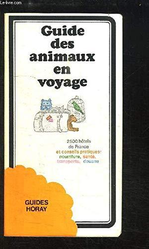 Guide des animaux en voyage
