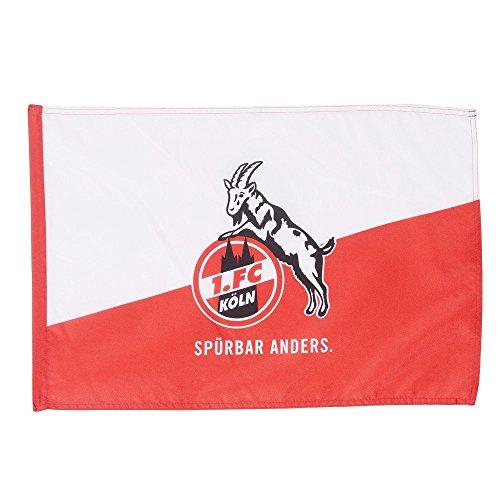 1. FC Köln Hissfahne/Hissflagge Spürbar Anders 150x100 cm (Fahne) (2 Ösen)