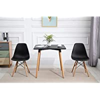 Mahmayi Dining Table and Chair Set - BLACK