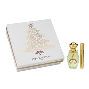 Annick Goutal Eau D'Hadrien Christmas Set 2012 Edt 50 ml + Purse Spray 10 ml, 1er Pack (1 X 60 ml)