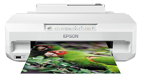 Epson Expression Photo XP-55 - Impresora fotográfica (impresión directa desde CD o DVD), color blanco