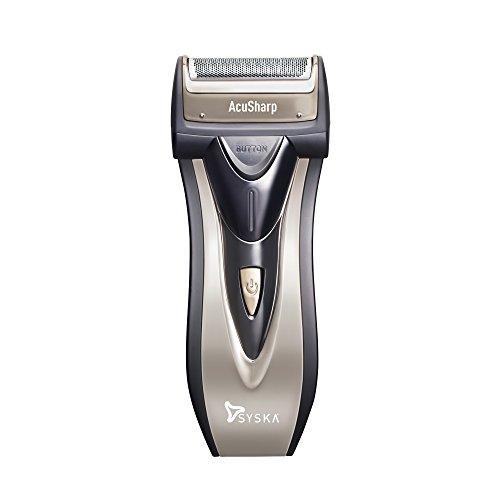 Syska SHR626 Acu Sharp Reciprocating Shaver (Black)
