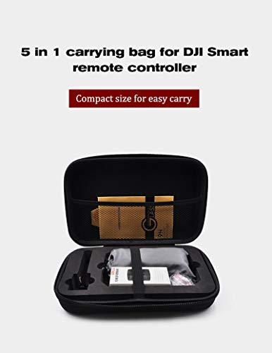 Kameradrohnen-Zubehör,TwoCC 1 5 in Easy Tragen Tragen Tasche für DJI Mavic 2 Smart Remote Controller Compact Serie Handy Antenne