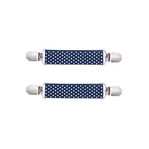 NINGSANJIN Edelstahl-Handschuhclips, elastische Handschuh- und Handschuhclips für Kinder, 1 Paar Elastische Fäustling Clip aus Edelstahl Handschuh und Fäustlinge Clip für Kinder und Erwachsene (A) (Für Erwachsene Handschuh-clips)