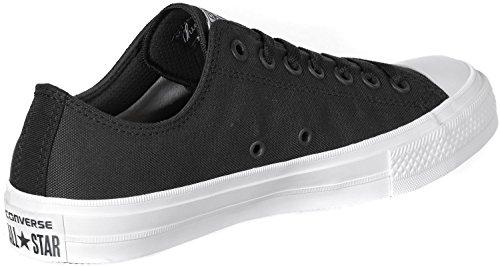 D4212 sneaker donna CONVERSE ALL STAR CHUCK TAYLOR II nero shoe woman Nero
