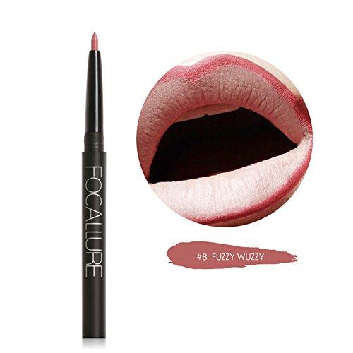 Blue Vessel Permanent Wasserdichte Lip Liner Bleistift Lippenstift Lipgloss Schönheit (8#)
