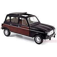 NOREV NV185242 Renault 4 Parisienne 1964 Black & Red 1:18 MODELLINO Die Cast
