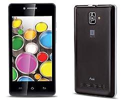 iBall Andi4 B20 Mobile Phone (White - Gold)