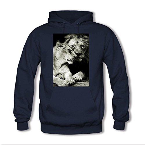 weileDIY Lovers DIY Custom Classic Women Hoodie Sweatshirt Navy_A