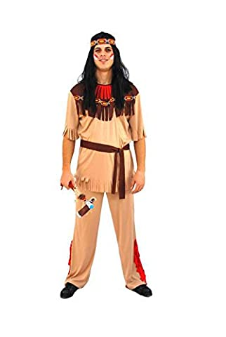 Costumes Flamme - Costume indien grande flamme taille