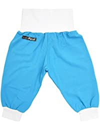 Pantalon, karibikblau basic-blanc