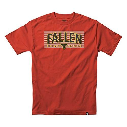 FALLEN T-Shirt FOUNDRY S/S blood red