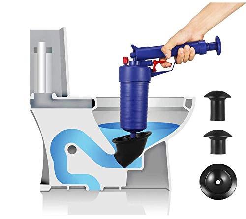 wcwwfnnn kolben luftdruck abflusspumpe Rohr baggerwerkzeug aerodynamische abflussrohr Bad Bad hochdruck abflussöffner_27,5 * 28 * 8 cm