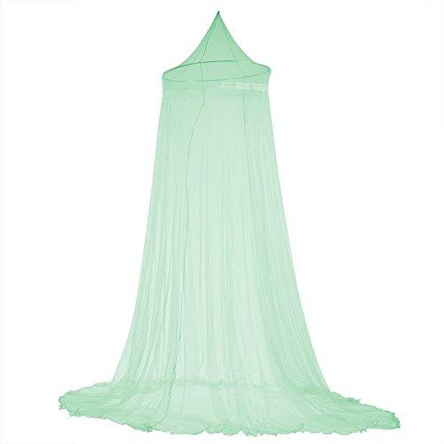 Mosquitera Malla de malla para cama Malla de malla fina permite que Breeze entre y salga a la luz Elegante decoración de dormitorio Instalación rápida y sencilla Sin productos químicos(verde)