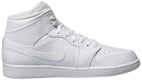 Sneaker Hohe Jordan Platinumwhite Elfenbein Whitepure 104 Mid Air 1 Nike Herren qwFBXY