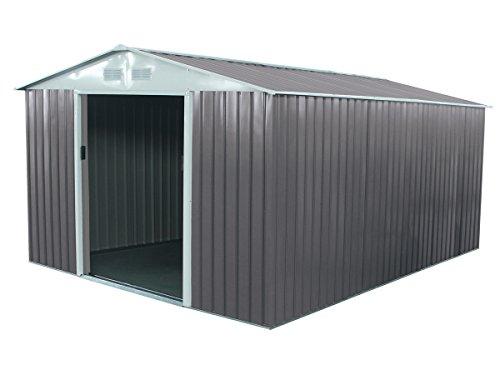 Caseta metálica para jardín Dallas 12,99 m²