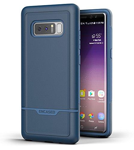 Galaxy Note 8Tough Case, [eingefasst Rebel Serie] Impact Armor Schutzhülle für Samsung Galaxy Note 8[Military Grade Schutz], Marineblau Otterbox Armor Serie