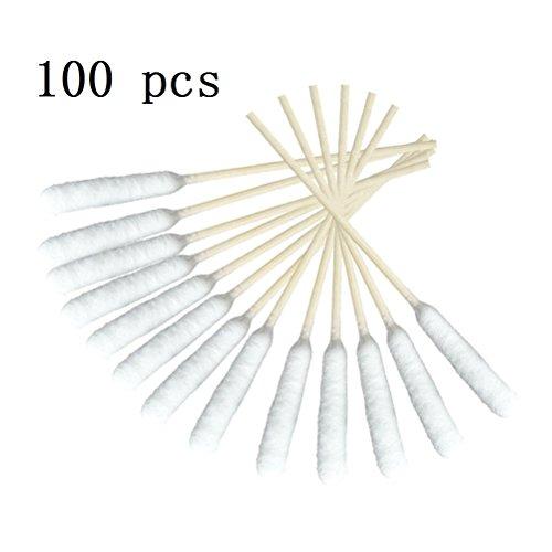 Odowalker Big Bamboo - Juego de 100 Varillas de algodón Gruesas, para...