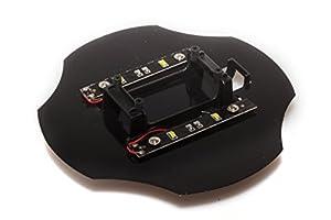 LRP Electronic 222722-Incluye LED, iluminación Inferior, 2Unidades, PVC, Protectora, H4Gravit 2.4GHz cuadricóptero