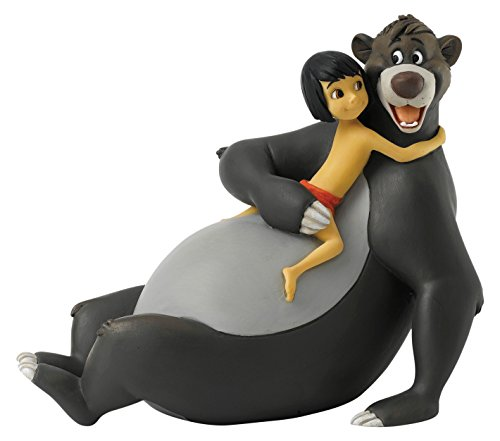 ENESCO A27148 Enchanting Disney Bare Necessities Mowgli Baloo Figur (Bear Baloo)