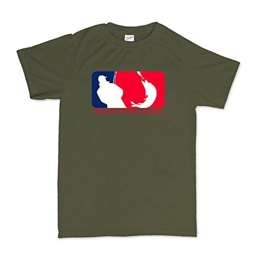 MFL Major Fishing League Funny Fishing Angling Angler T-shirt (Mlg Gaming-hoodie)
