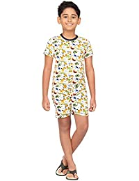 Nuteez Kids Animals Shorts Set for Kids