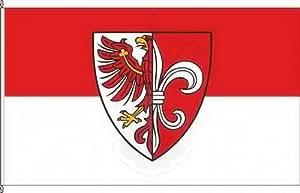 Königsbanner Hissflagge Zehdenick - 150 x 250cm - Flagge und Fahne