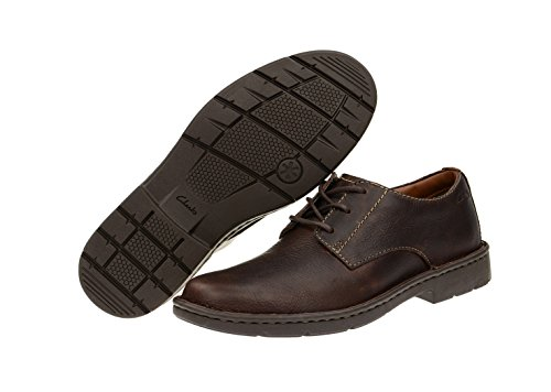 Clarks Stratton Way, Scarpa classica modello derby Uomo Brown - BROWN
