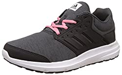 adidas Womens Galaxy 3.1 W Dgreyh, Cblack and Easpnk Running Shoes - 6 UK/India (39.33 EU)