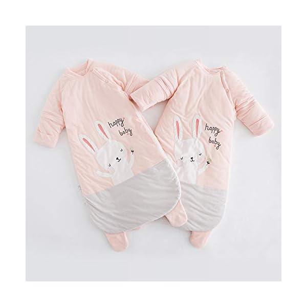 Dtcat Saco de Dormir para bebé de Invierno,Saco de Dormir para bebé,Pijama de una Pieza para bebé de otoño e Invierno @ Thick_S,Saco de Dormir portátil con Saco de Dormir