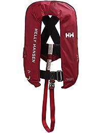 Helly Hansen Inflatable Inshore - Chaleco unisex, color rojo, talla única