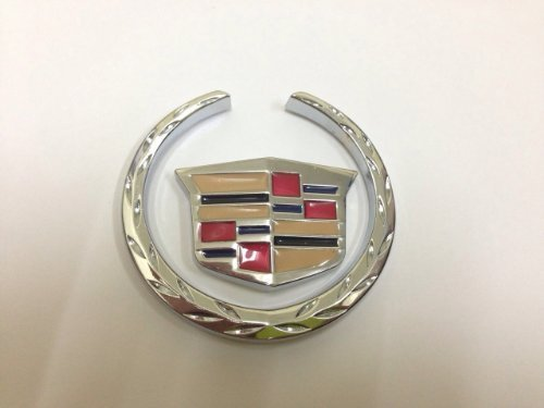 2-piece-cadillac-size-6-cm-steel-emblem-auto-car-accessories-by-chrome-3d-badge-3m-adhesive-by-lexus