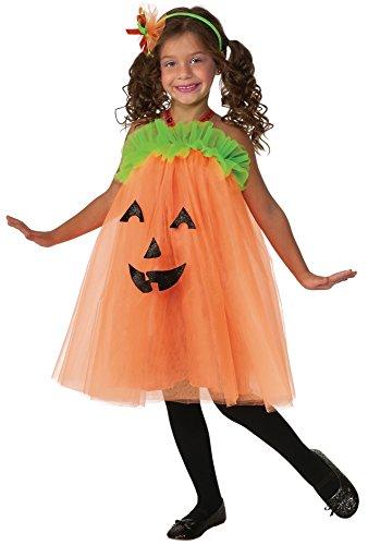 Pumpkin tutu dress Kids costume girl 120cm-140cm 610095M