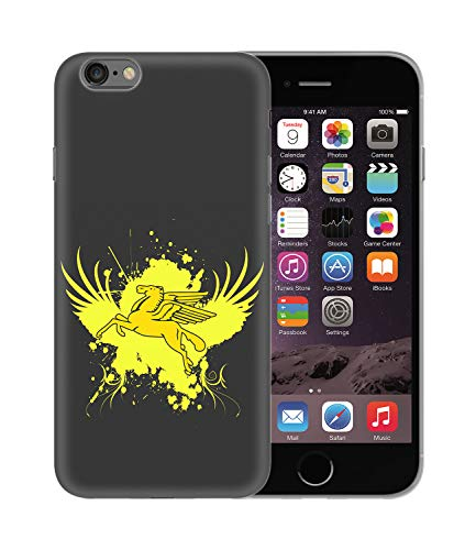 CowallsBen Pegasus Horse with Wings_BEN4917 Protective Phone Mobile Smartphone Case Cover Handyhulle Handyhülle Schutz Hard Plastic for iPhone XR Funny -
