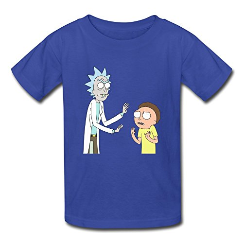rose-memery-t-shirt-ragazzo-blu-reale-s