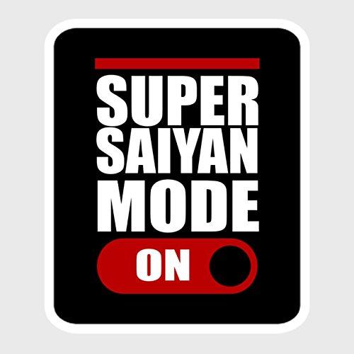 Preisvergleich Produktbild StyloTex Autoaufkleber Super Saiyan Mode ON - UV geschützt