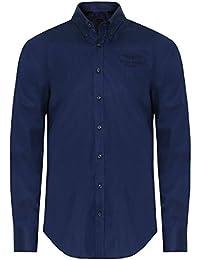 Hackett Hombres camisa Slim fit amr Azul