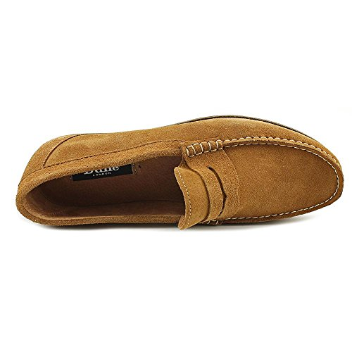 Dune London Brightly Daim Mocassin Tan