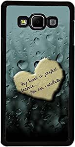 PrintVisa Case Cover for Samsung Galaxy A7 (D7835 Love Quotes)