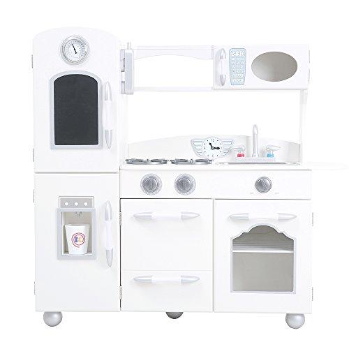 Teamson kids white country living cucina, 1 pezzo, multicolore